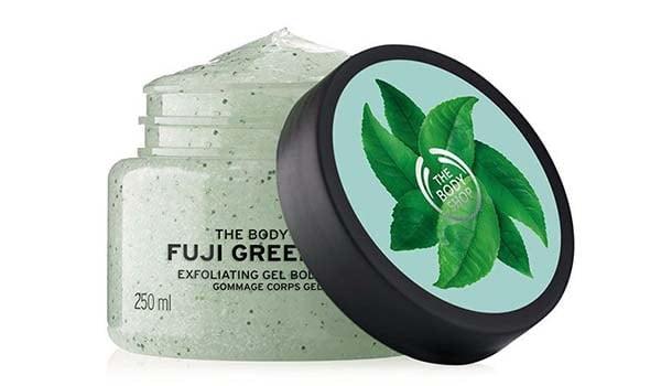 merk lulur yang bagus, merk lulur yang ampuh memutihkan kulit, The Body Shop Fuji Green Tea Body Scrub
