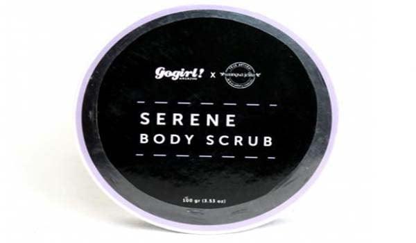 merk lulur yang bagus, merk lulur yang ampuh memutihkan kulit, Wangsa Jelita Serene Body Scrub