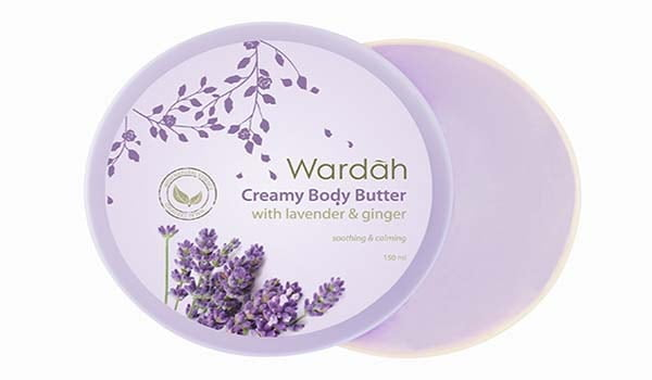 merk lulur yang bagus, merk lulur yang ampuh memutihkan kulit, Wardah Creamy Body Butter