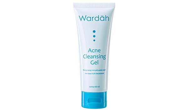 Acne Cleansing Gel, Wardah Acne Series