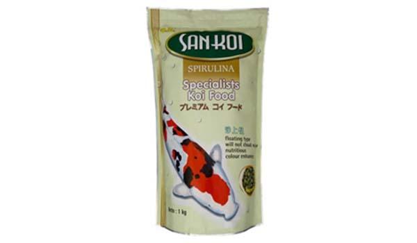 San Koi, Merk pakan ikan hias yang bagus