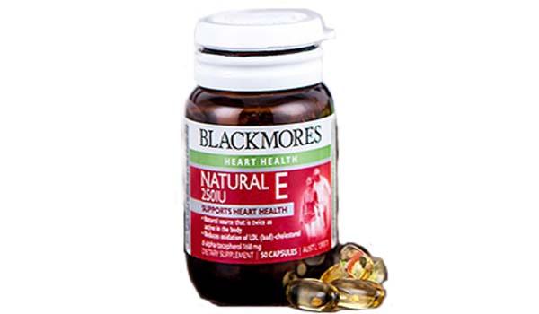 vitamin untuk daya tahan tubuh, Blackmores Natural E 250 IU