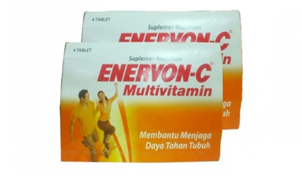 vitamin untuk daya tahan tubuh, Enervon-C Multivitamin