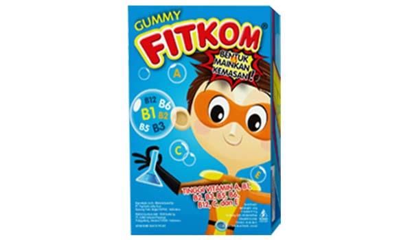 Fitkom Gummy Multivitamin, merk vitamin anak yang bagus