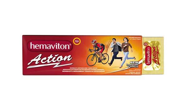 vitamin untuk daya tahan tubuh, Hemaviton Action