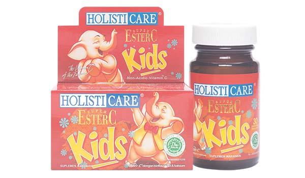 Holisticare Ester C Kids, merk vitamin anak yang bagus