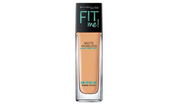 Maybelline New York Matte + Poreless Fit Me Foundation, Merk Foundation