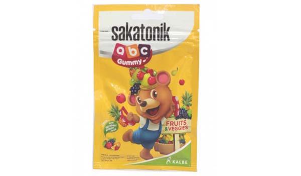 merk vitamin anak yang bagus, Sakatonik ABC Gummy Fruit & Veggies