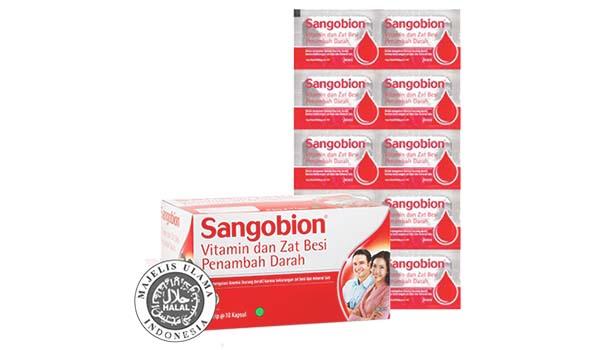 Sangobion Vitamin dan Zat Besi, vitamin untuk daya tahan tubuh