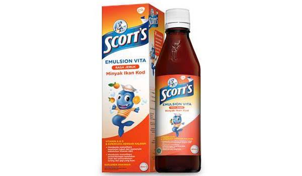 merk vitamin anak yang bagus, Scotts Emulsion Vita