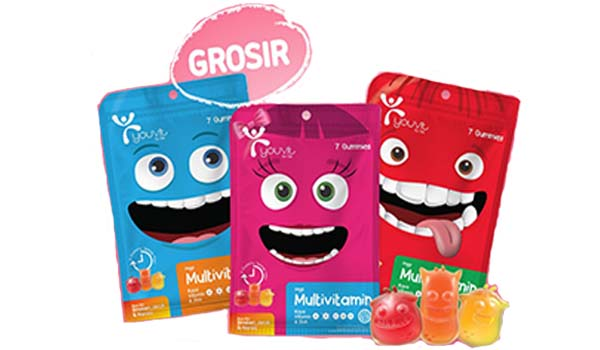 Youvit Gummy Multivitamin, merk vitamin anak yang bagus