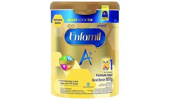 Enfamil A+1, Susu Formula Terbaik untuk Baby