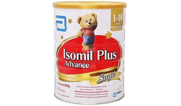 Susu Formula Terbaik untuk Baby, Isomil Plus Advance Soya
