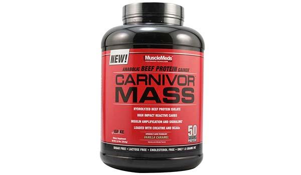 susu whey protein, Musclemeds Carnivor Mass