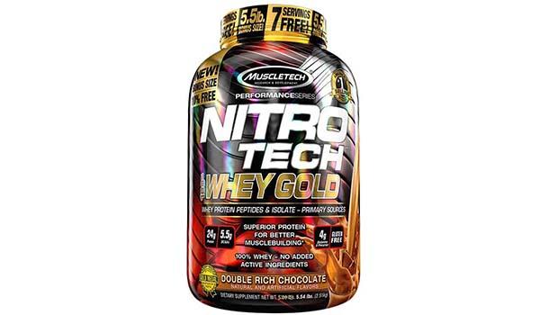 Muscletech Nitrotech Whey Gold Suplemen, susu whey protein