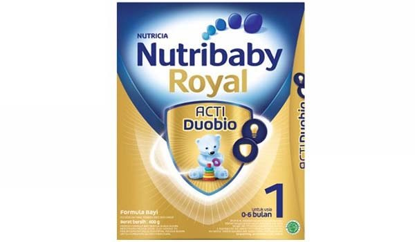 Susu Formula Terbaik untuk Baby, Nutribaby Royal Acti Duobio