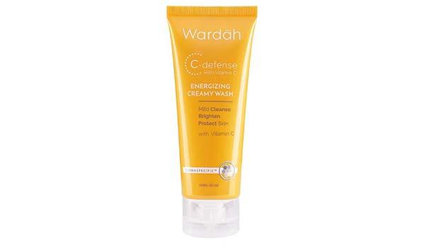 Wardah C Defense Energizing Cream Wash, Macam-Macam Produk Wardah Skincare
