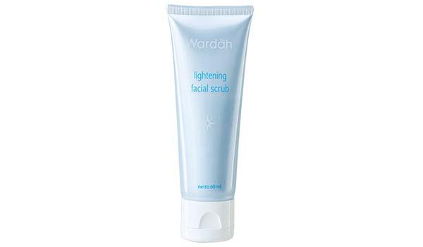 Wardah Lightening Facial Scrub, Macam-Macam Produk Wardah Skincare