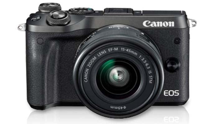 Canon EOS M6 Mirrorless Camera, harga kamera canon mirrorless terbaik