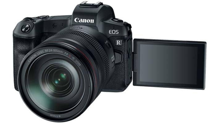 Canon EOS R Full-Frame Mirrorless Camera