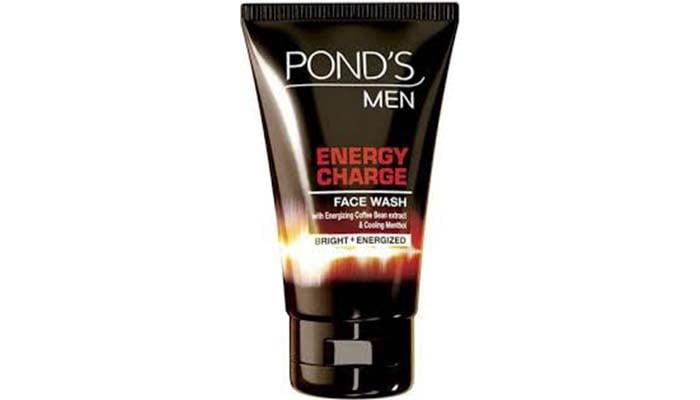 PONDS Men Energy Charge Whitening + Anti Dullness Facial Foam, pembersih muka untuk lelaki