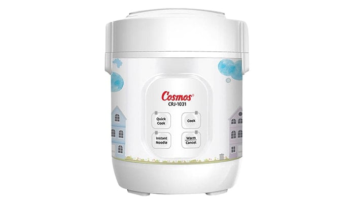 COSMOS Mini Digital Rice Cooker 4 in 1 CRJ-1031