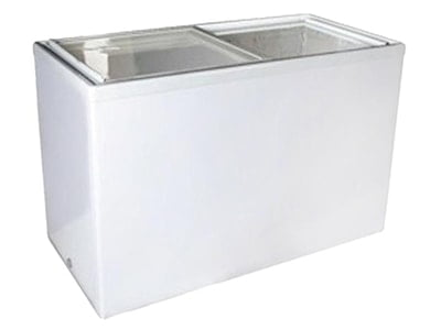 RSA XS-200 Sliding Flat Glass Freezer