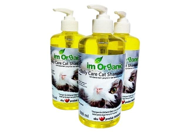 Im OrGanic Daily Care Cat Shampoo, harga shampo kucing alami