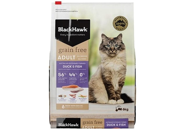 BlackHawk Grain Free Cat Food