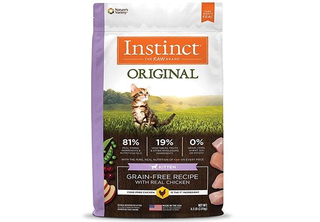 Natures Variety Instinct Original Dry Cat Food