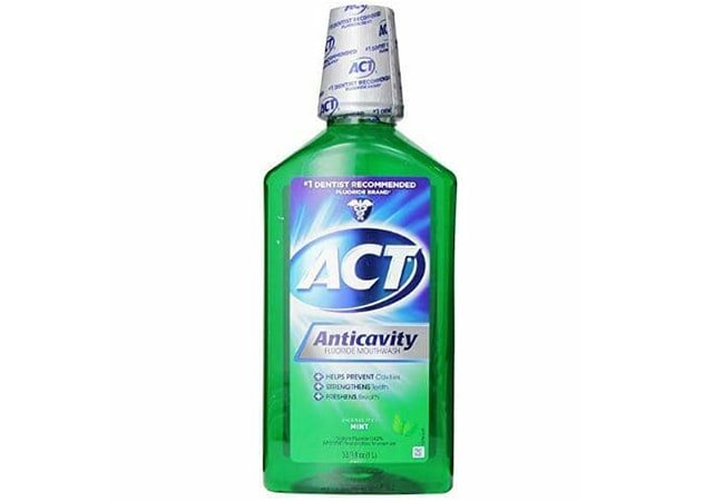 ACT Total Care Anticavity Fluoride