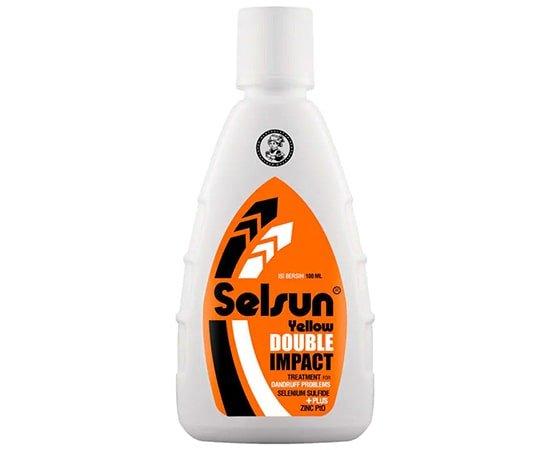 Selsun Yellow Double Impact, shampo rambut kering terbaik