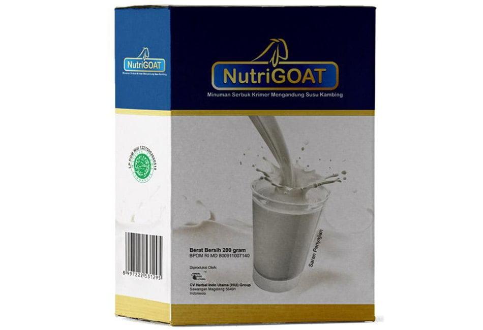 Susu Kambing NutriGOAT, susu kambing untuk tulang dan sendi