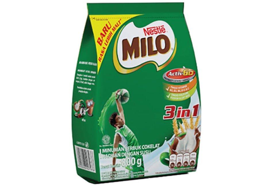 Susu Milo ActivGo 3 in 1, susu untuk tulang serta sendi