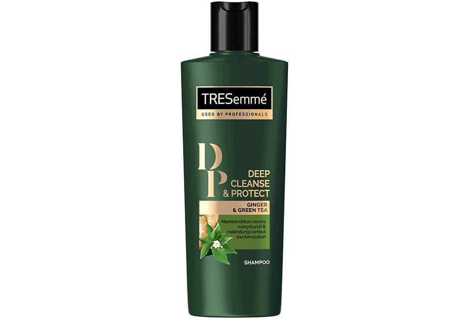 Tresemme Shampoo Deep and Cleanse Protect, shampo rambut lepek
