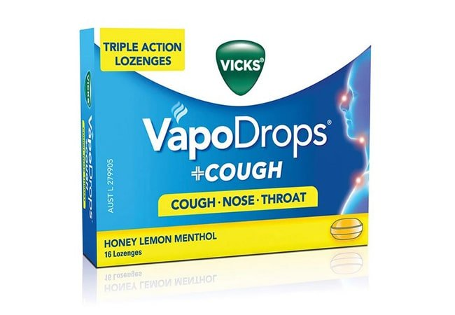 Vicks Vapodrops Cough Nose Throat