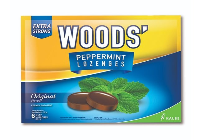 Woods Peppermint Lozenges