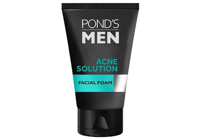 Ponds Men Acne Solution Facial Foam,sabun cuci muka pria untuk menghilangkan jerawat