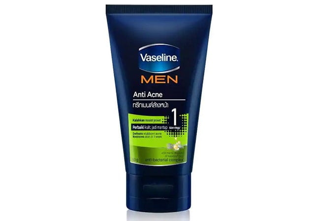 Vaseline Men Anti Acne Face Wash