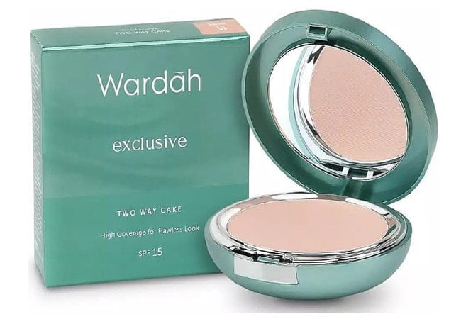 Wardah Compact Exclusive Two Way Cake