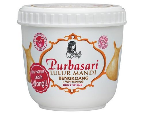 Purbasari Lulur Mandi Bengkoang Whitening, merk body scrub yang bagus