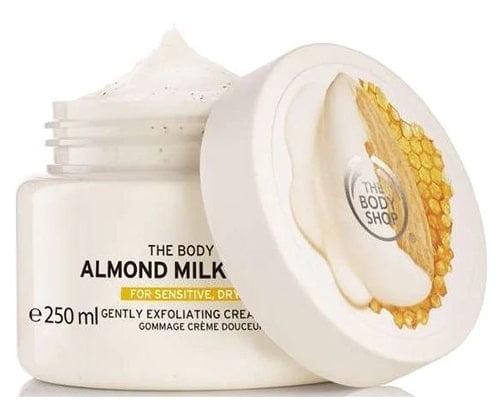 The Body Shop Almond Milk & Honey Body Scrub