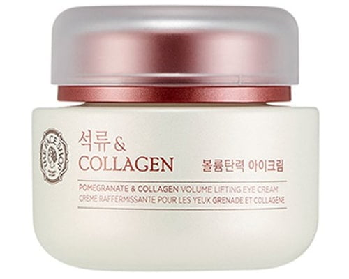 The Face Shop Pomegranate and Collagen Volume Lifting Eye Cream, eye cream korea yang bagus