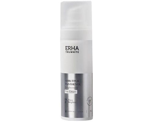 ERHA Truwhite Arbutin & Panthenol Brightening Day Cream, Cream Penghilang Flek Hitam Usia 40