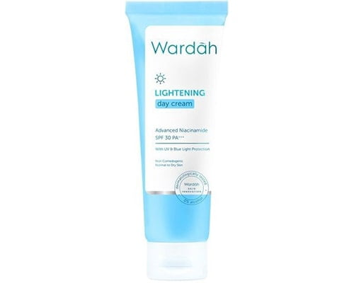 Wardah Lightening Day Cream Advanced Niacinamide,Merk Cream Pemutih Wajah Untuk Remaja