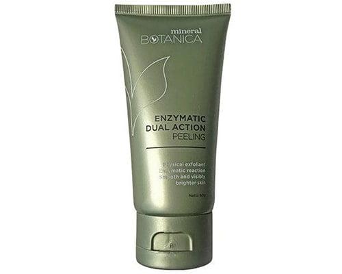 Mineral Botanica Enzymatic Dual Peeling Cream, Rekomendasi Produk Exfoliating Lokal