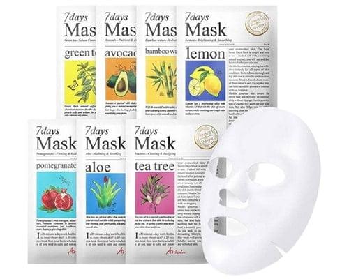 Airul 7 Days Mask Sheet, Masker Wajah di Indomaret