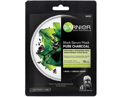 Garnier Skin Natural Black Serum Mask Pure Charcoal