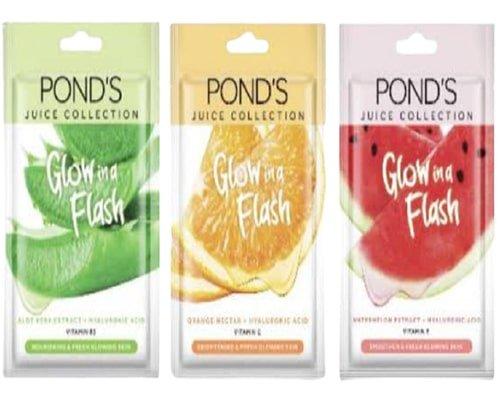 Ponds Sheet Mask Glow In Flash, Masker Wajah di Indomaret