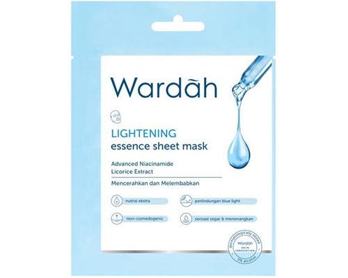 Wardah Essence Sheet Mask Lightening, Masker Wajah di Indomaret